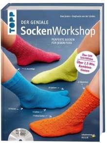 Stephanie van der Linden: Der geniale Sockenworkshop, Buch