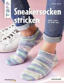 Dagmar Bergk: Sneakersocken stricken (kreativ.kompakt), Buch