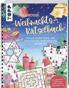 Thade Precht: Das große Weihnachts-Rätselbuch, Buch