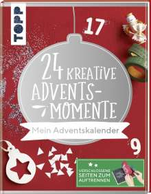 Natascha Pitz: 24 kreative Adventsmomente. Mein Adventskalender, Buch