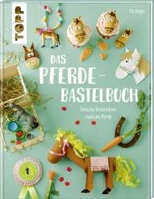 Pia Deges: Das Pferde-Bastelbuch, Buch