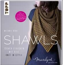 Melanie Berg: Shawls, Buch