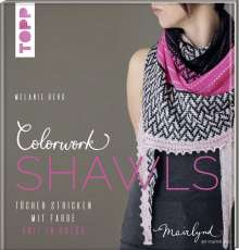 Melanie Berg: Colorwork Shawls, Buch