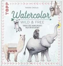 Natalia Skatula: Watercolor Wild & Free, Buch