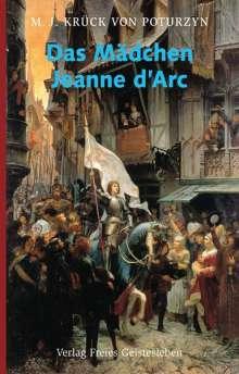 Maria J. Krück von Poturzyn: Das Mädchen Jeanne d´Arc, Buch