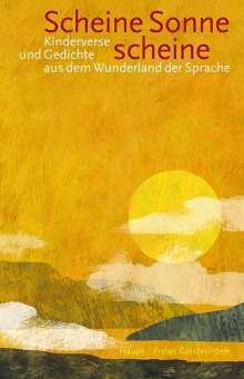 Ernst Bühler: Scheine Sonne, scheine, Buch