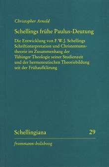 Christopher Arnold: Schellings frühe Paulus-Deutung, Buch