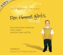 Todd Burpo: Den Himmel gibt's echt, 4 CDs