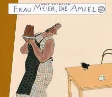Wolf Erlbruch: Frau Meier, die Amsel, Buch