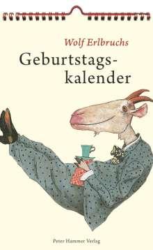 Wolf Erlbruchs Geburtstagskalender, Diverse