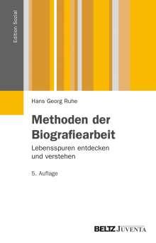 Hans Georg Ruhe: Methoden der Biografiearbeit, Buch