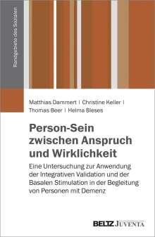 Matthias Dammert: Person-Sein zwischen Anspruch und Wirklichkeit, Buch