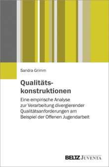 Sandra Biewers Grimm: Qualitätskonstruktionen, Buch