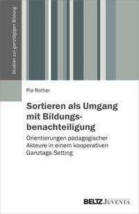 Pia Rother: Sortieren als Umgang mit Bildungsbenachteiligung, Buch