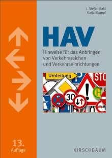 Stefan Bald: HAV. Hinweise für das Anbringen von Verkehrszeichen und Verkehrseinrichtungen, Buch