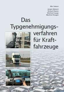 Nils Siebert: Das Typgenehmigungsverfahren für Kraftfahrzeuge, Buch