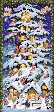 Waldhaus Adventskalender, Kalender