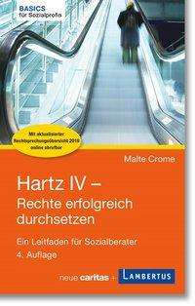Malte Crome: Hartz IV - Rechte erfolgreich durchsetzen, Buch