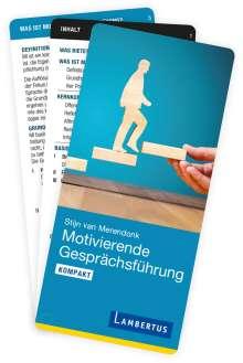 Stijn van Merendonk: Motivierende Gesprächsführung kompakt, Buch