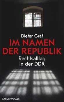 Dieter Gräf: Im Namen der Republik, Buch
