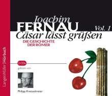Joachim Fernau: Cäsar lässt grüßen 1, 2 CDs