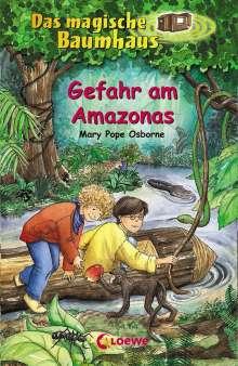 Mary Pope Osborne: Das magische Baumhaus 06. Gefahr am Amazonas, Buch