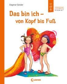 Dagmar Geisler: Das bin ich - von Kopf bis Fuß, Buch