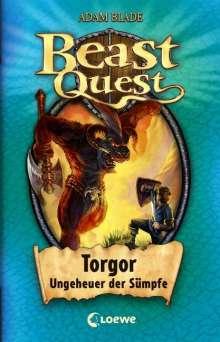 Adam Blade: Beast Quest 13. Torgor, Ungeheuer der Sümpfe, Buch
