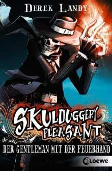 Derek Landy: Skulduggery Pleasant 01. Der Gentleman mit der Feuerhand, Buch