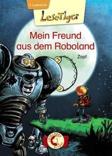 Zapf: Lesetiger - Mein Freund aus dem Roboland, Buch