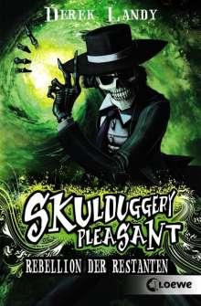 Derek Landy: Skulduggery Pleasant  05. Rebellion der Restanten, Buch