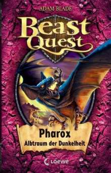 Adam Blade: Beast Quest 33 - Pharox, Albtraum der Dunkelheit, Buch