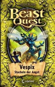 Adam Blade: Beast Quest 36. Vespix, Stacheln der Angst, Buch