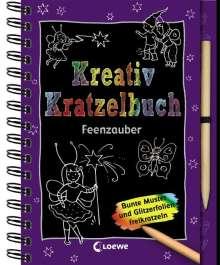 Kreativ-Kratzelbuch Feenzauber, Buch