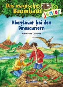 Mary Pope Osborne: Das magische Baumhaus junior 01 - Abenteuer bei den Dinosauriern, Buch