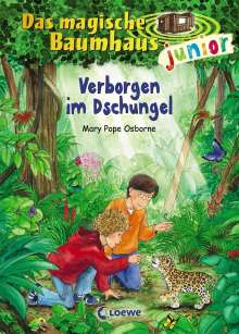 Mary Pope Osborne: Das magische Baumhaus junior 06 - Verborgen im Dschungel, Buch