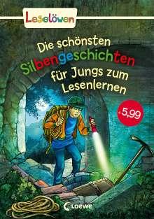 Michaela Hanauer: Leselöwen - Das Original: Die schönsten Silbengeschichten für Jungs zum Lesenlernen, Buch