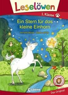 Annette Moser: Leselöwen 1. Klasse - Ein Stern für das kleine Einhorn, Buch