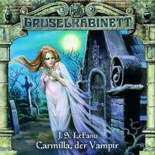 LeFanus: Gruselkabinett 01. Carmilla, der Vampir, CD