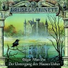 Edgar Allan Poe: Gruselkabinett 11. Der Untergang des Hauses Usher. CD, CD