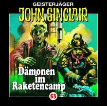 Jason Dark: Dämonen im Raketencamp 53, CD