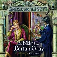 Oscar Wilde: Gruselkabinett 36 / 37. Das Bildnis des Dorian Gray, 2 CDs