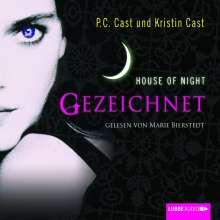 P. C. Cast: House of Night 01. Gezeichnet, 4 CDs