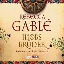 Rebecca Gablé: Hiobs Brüder, 12 CDs