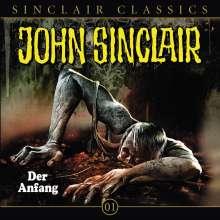 Jason Dark: John Sinclair Classics - Folge 01, CD