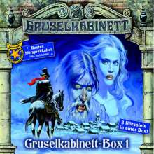 Gruselkabinett-Box 01, 3 CDs