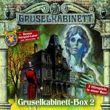 Gruselkabinett - Box 2, 3 CDs