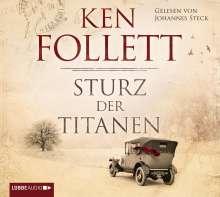 Ken Follett (geb. 1949): Sturz der Titanen, 12 CDs