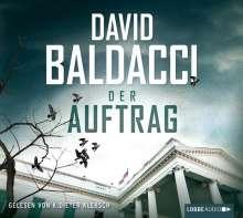 David Baldacci (geb. 1960): Der Auftrag, 6 CDs