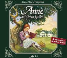 Lucy M. Montgomery: Anne auf Green Gables, Folge 1-4, 4 CDs